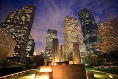 38-houston-Downtown-at-night