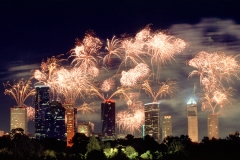 40-houston-Fireworks-downtown
